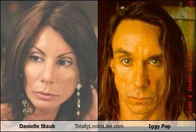 Danielle Staub Totally Looks Like Iggy Pop