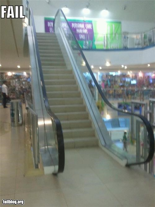 escalator,failboat,g rated,laziness,Professional At Work,stairs