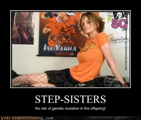 family,genetic mutation,hilarious,sister,step sister