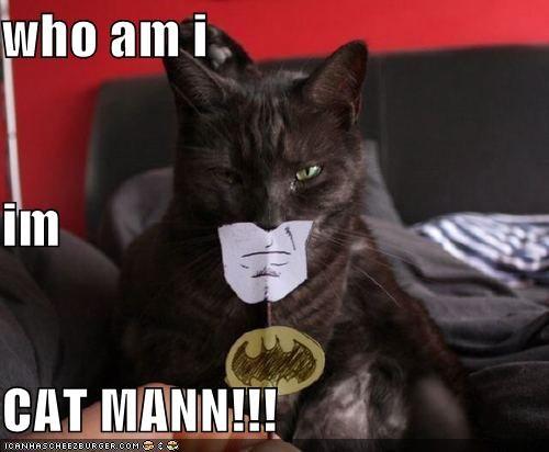 who am i im CAT MANN!!!