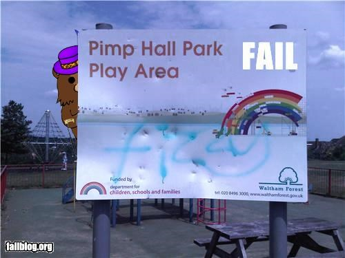 Play Area Name FAIL