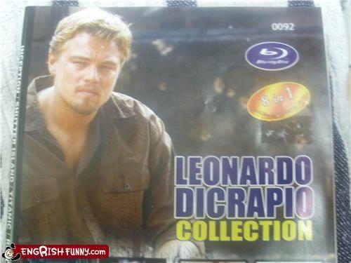 DVD,FAIL,leonardo dicaprio,spelling