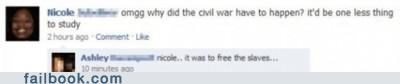 Yeah! Stupid Civil War...