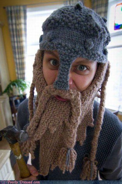 beard,dwarf,hat,knit