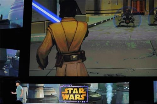 Kinect Star Wars Pics of the Day