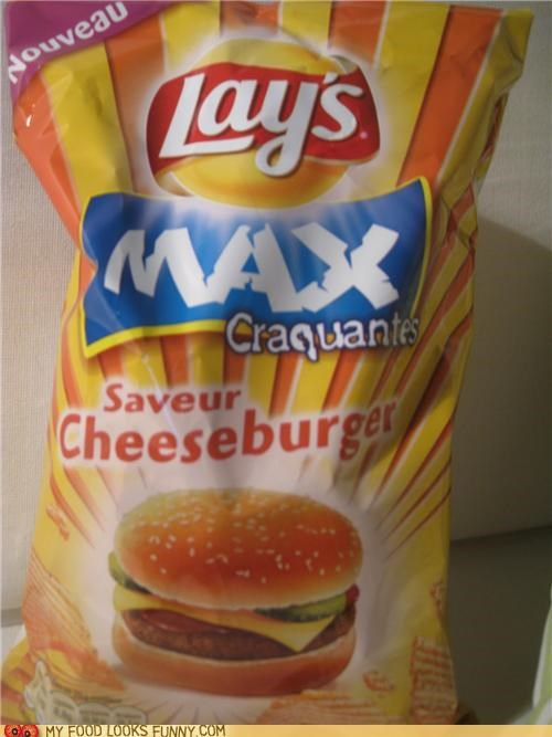 cheeseburger flavor,cheezburger,chips,corporate sponsorship,hint hint,Lays,potato chips