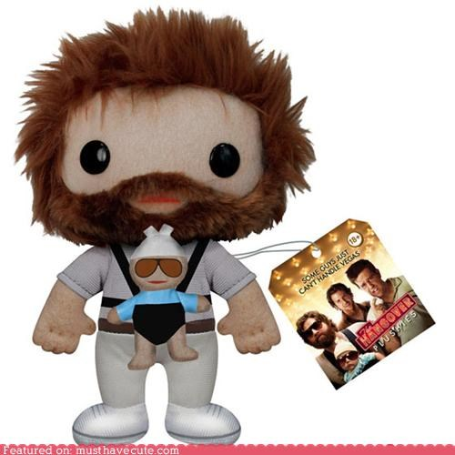 alan,baby,carlos,plushy,The Hangover,zach galifinakis
