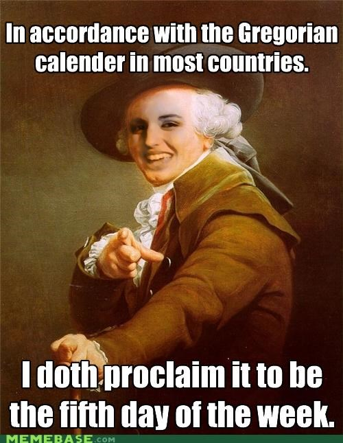 FRIDAY,Joseph Ducreux,lyrics,Rebecca Black,yeah yeah fun