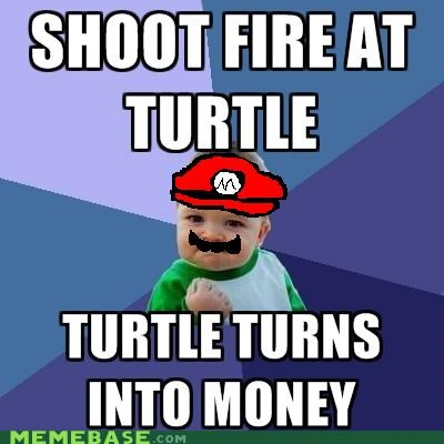 coin,health,mario,money,success kid,turtle,video games