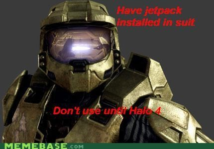 halo,jetpack,master chief,Memes,troll,video games