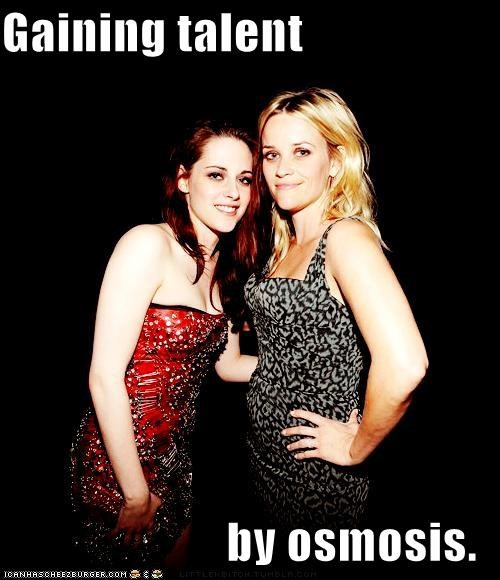 actor,celeb,funny,kristen stewart,Reese Witherspoon