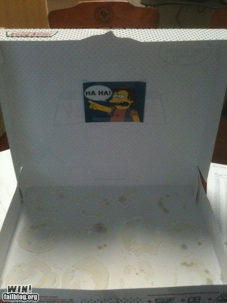Empty Donut Box WIN