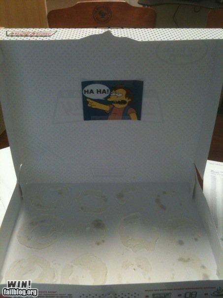 donuts,prank,team breakfast food,the simpsons,trolling