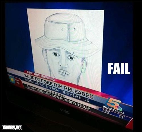 Suspect Sketch FAIL
