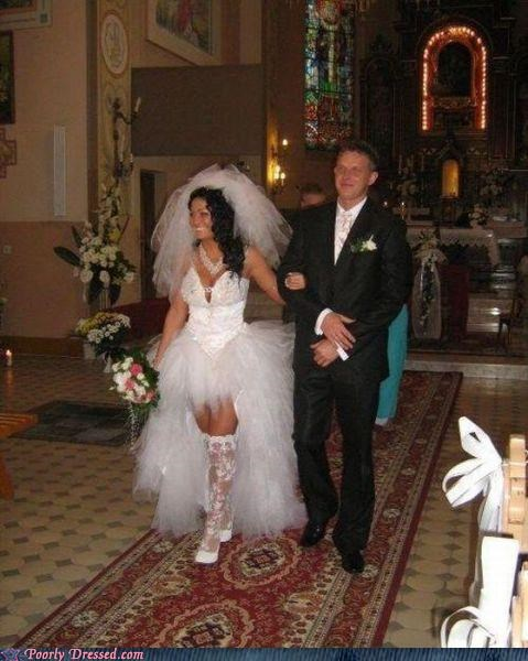 lace,revealing,skanky,wedding