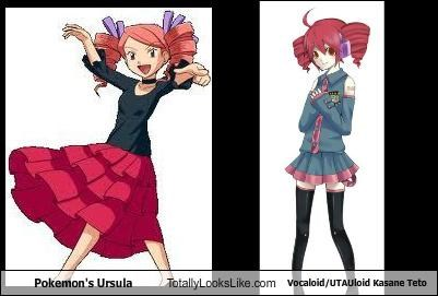 Ursula de Pokemon Totally Looks Like Vocaloid / UTAUloid Kasane Teto