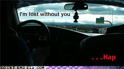 gps,hipsterlulz,lost,map,smart phone