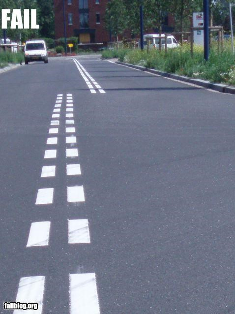 Road Lines FAIL