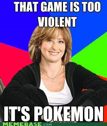 Memes,mom,Pokémon,sheltering,suburban,violent