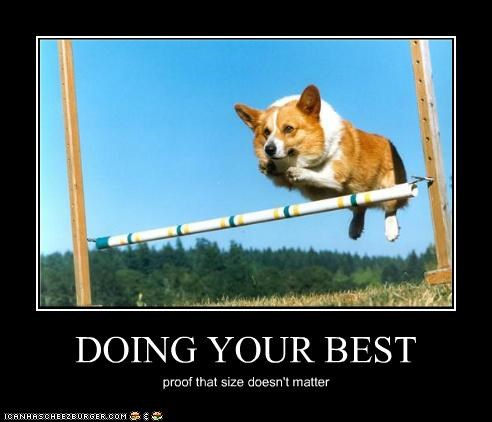 DOING YOUR BEST