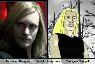 Alexander Skarsgard Totally Looks Like Skwisgaar Skwigelf