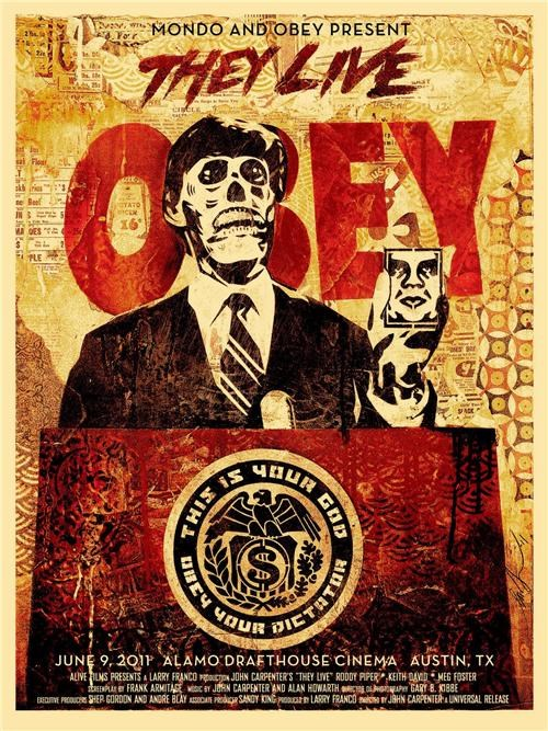Shepard Fairey Movie Poster of the Day