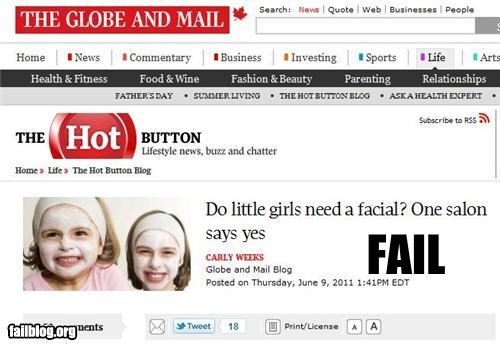 Salon Recommendation FAIL