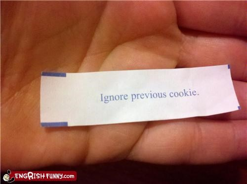 Fortune Cookie Friday - Will Do.