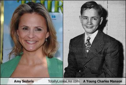 Amy Sedaris Totally Looks Like A Young Charles Manson