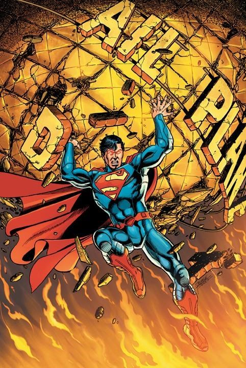 Rebooted Superman Comics of the Day