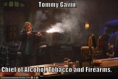 Tommy Gavin,  Chief of Alcohol, Tobacco and Firearms.