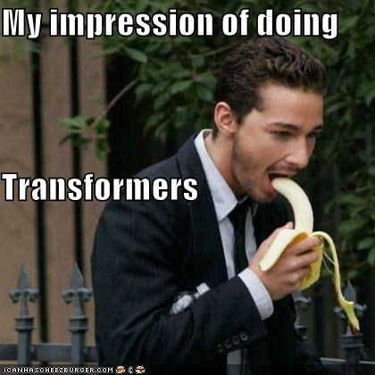 My impression of doing  Transformers