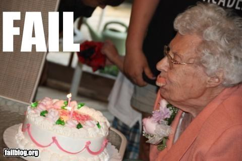 birthday,candle blowing,dentures,failboat,g rated,old people