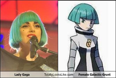 Lady Gaga Totally Looks Like Female Galactic Grunt