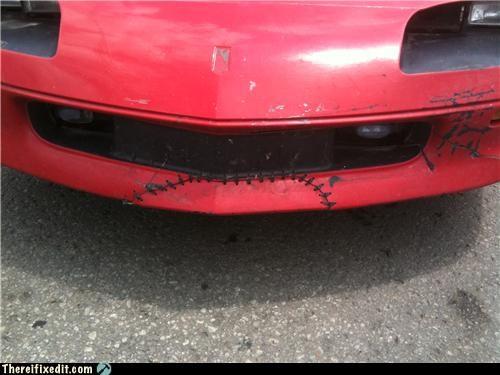 bumper repair,cars,frankenstein