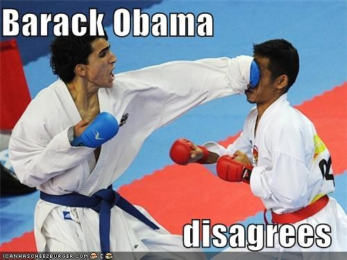 Barack Obama  disagrees
