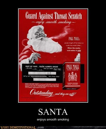 hilarious,santa,smoking,smooth