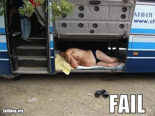 Bus Travel FAIL