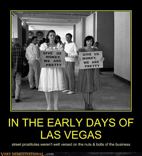 IN THE EARLY DAYS OF LAS VEGAS