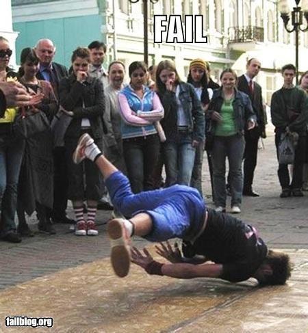 Break Dancing FAIL