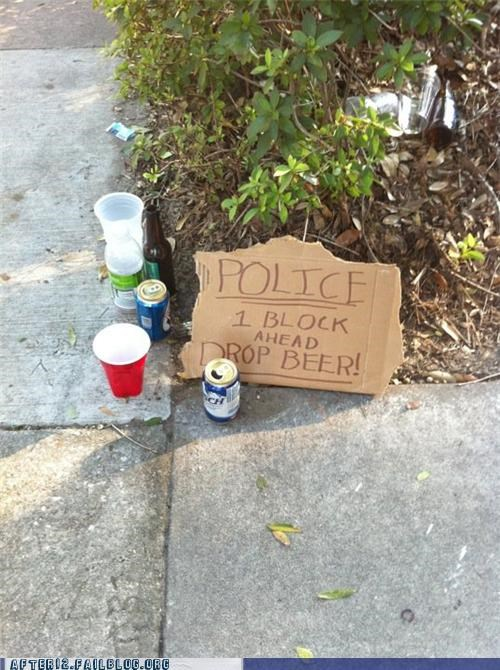 open liquor laws,police,sign,underage