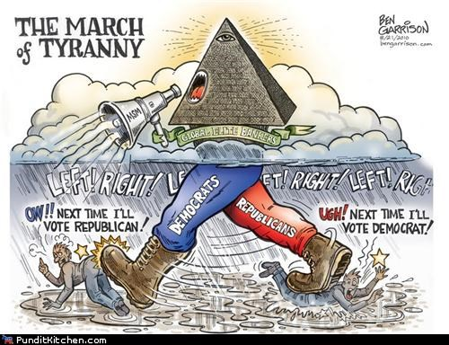 ben garrison,democrats,political cartoons,political pictures,Republicans,united states