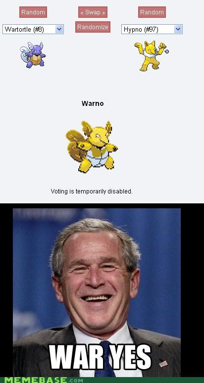 Warbush Used Preemptive Strike
