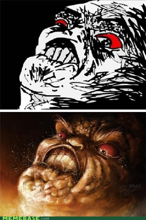 New and Improved Rage Faces
