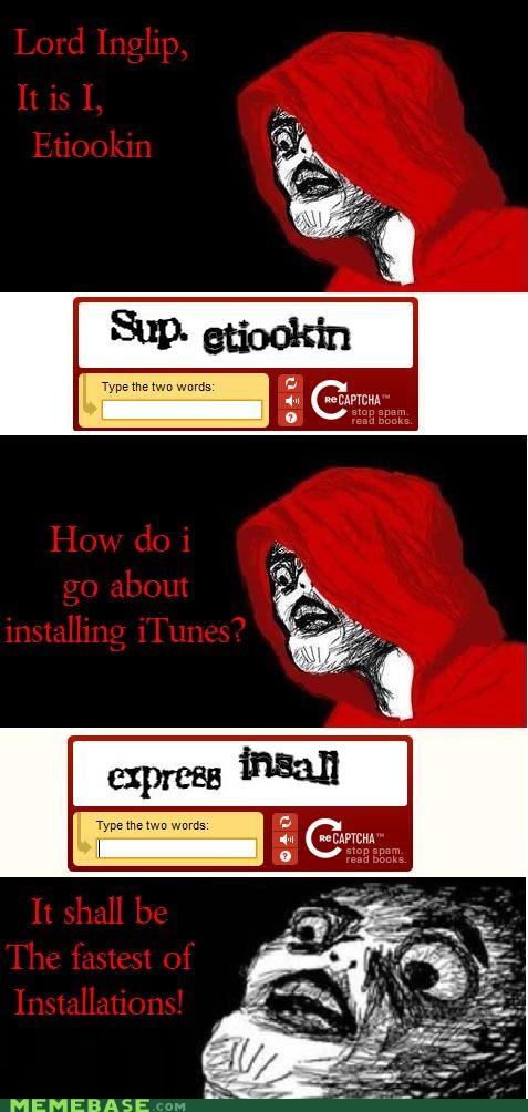 captcha,express,inglip,install,ipod,iTunes