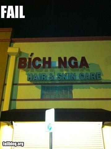 Salon Name FAIL