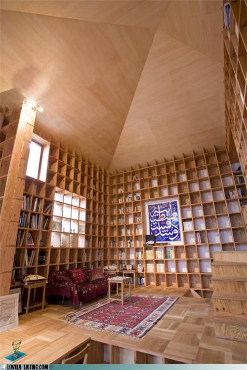 Bookcase House