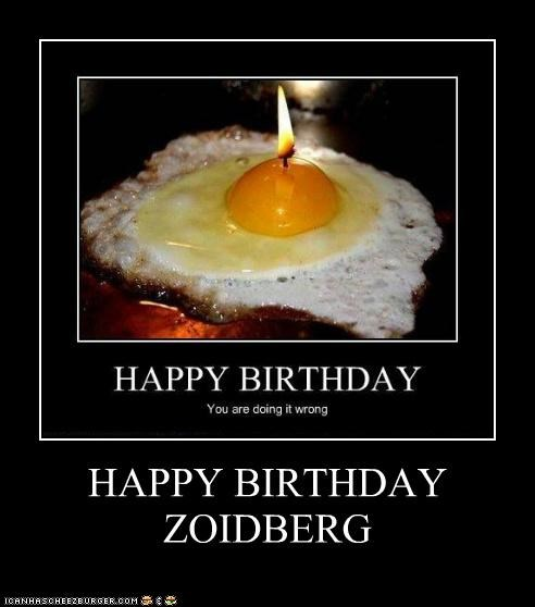HAPPY BIRTHDAY ZOIDBERG