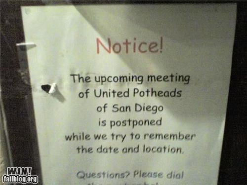 Meeting Notice WIN