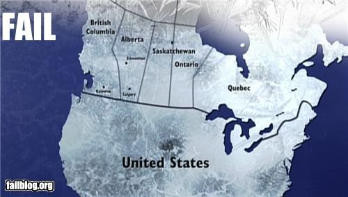 Canadian Map FAIL